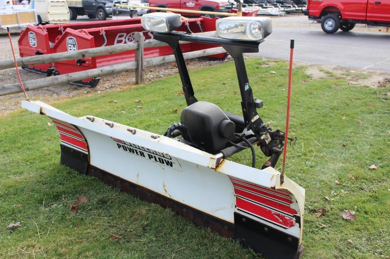 2013 BLIZZARD 8100 POWER PLOW Snow Truck Plow USED
