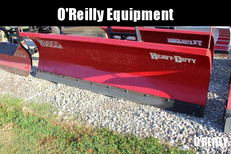 2015 BOSS STB07738 Snow Plow 10' STRAIGHT BLADE