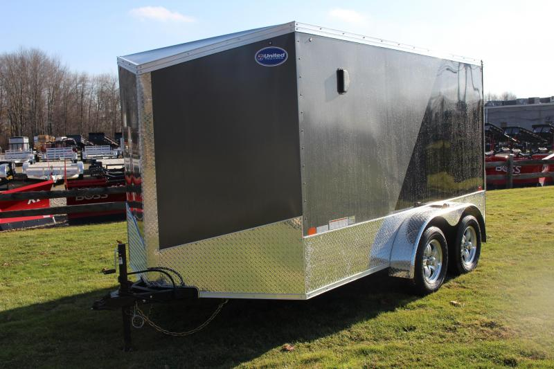 2020 United Trailers XLMTV 7x12 Motorcycle Trailer