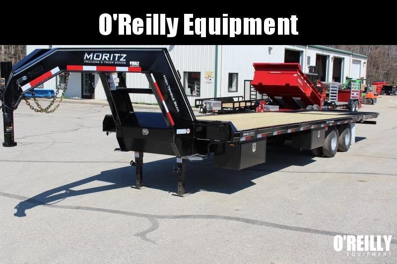 2019 Moritz International FGSH-10+22 Flatbed Trailer
