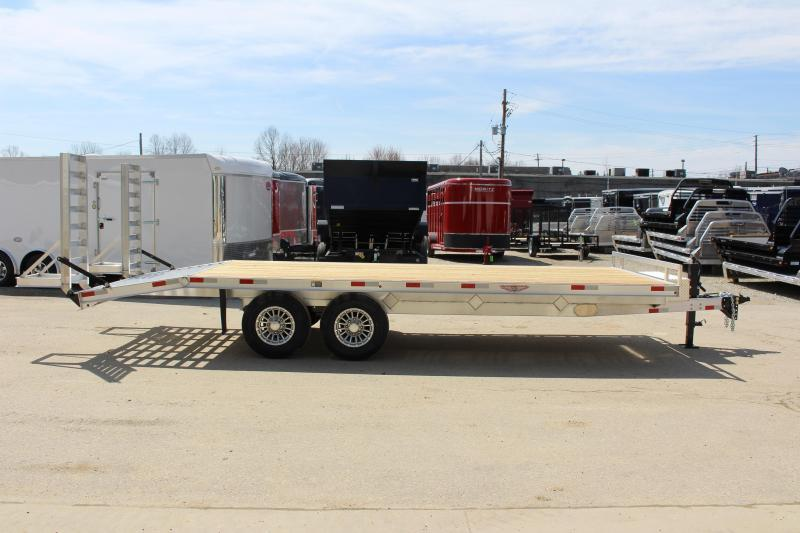 2020 H and H Trailer 8.5 x 22' Flatbed Trailer