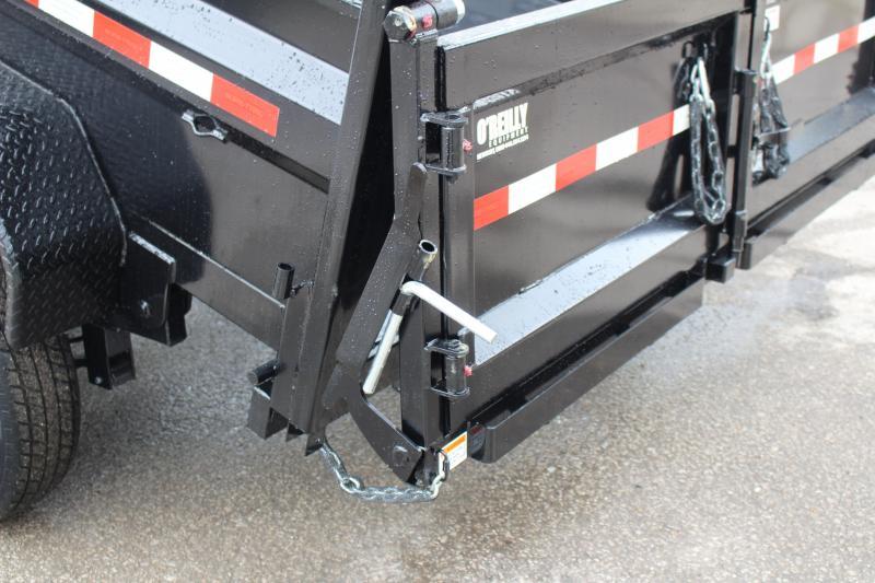 2020 Sure-Trac 7 x 12+4 Dump Trailer