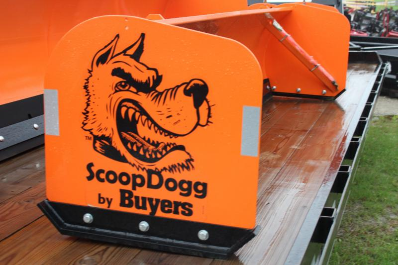 2016 ScoopDogg 2604106 Snow Plow 10' Compact Skid Steer