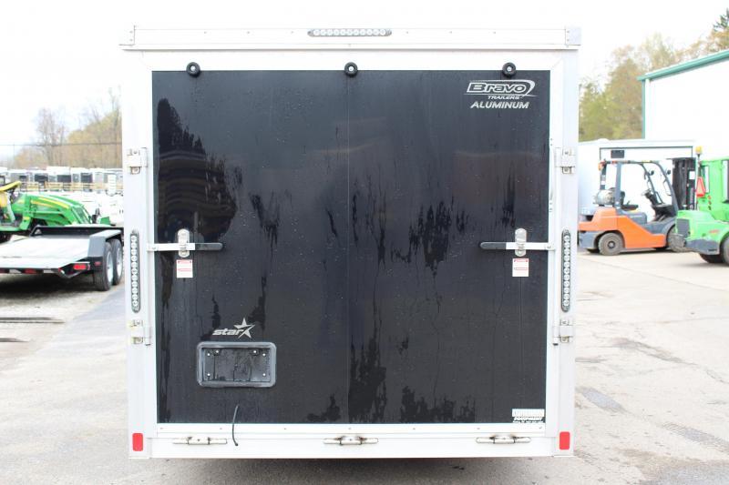 2015 Aluminum Bravo Trailers AST716TA2 Enclosed Cargo Trailer