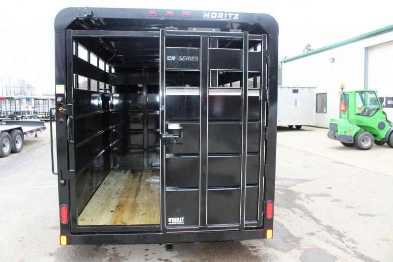 2020 Moritz International CBR68-16 Livestock Trailer