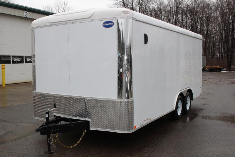 2020 United Trailers ULT 8.5X18 Enclosed Cargo Trailer