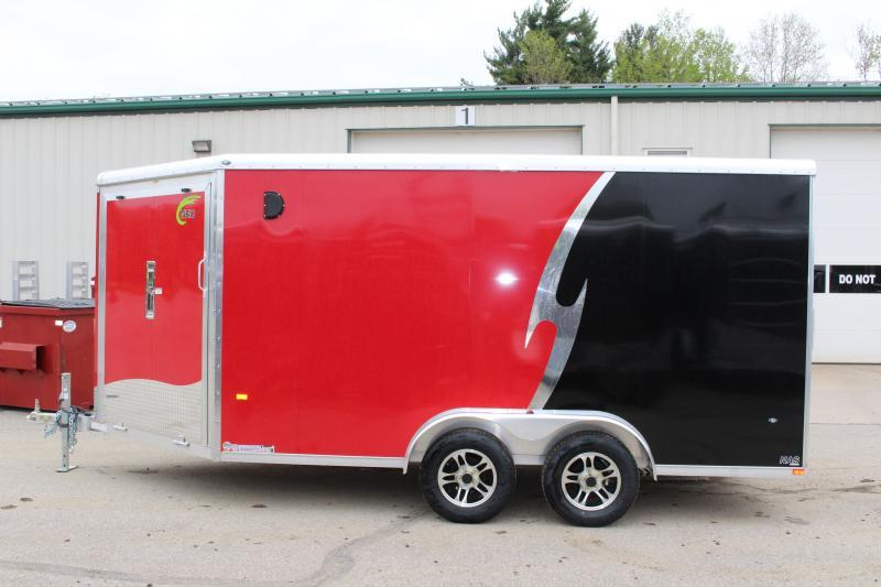 2020 NEO Trailers NAS 7.5 X 18 Enclosed Cargo Trailer
