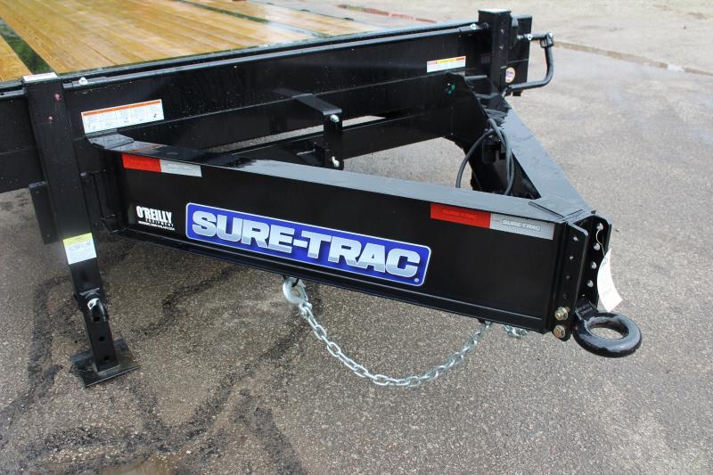 2020 Sure-Trac 8.5 x 25' Flatbed Trailer