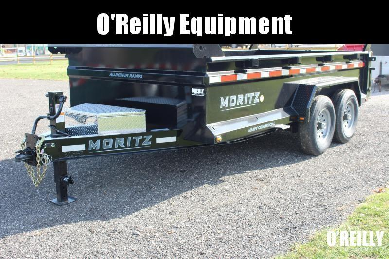 "2020 Moritz International 6'10""x14 HD Dump Trailer"