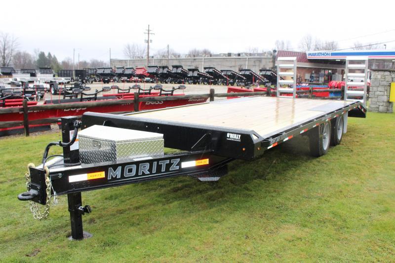 2020 MORITZ EDBH-18+4 AR 16000 DECK OVER