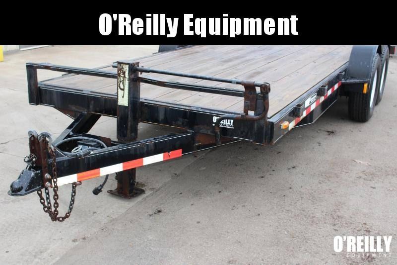 2000 Mac-Lander 18TFHWB Equipment Trailer Used