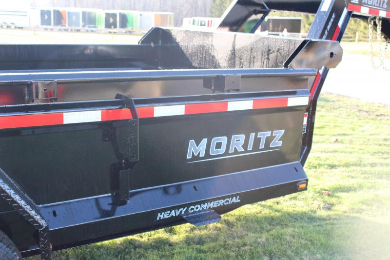 """2020 Moritz International 6'10""""x14 HD Dump Trailer"""