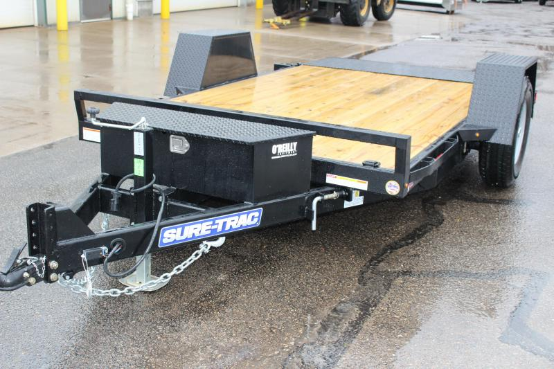 2018 Sure-Trac 7 x 12 TILT Equipment Trailer
