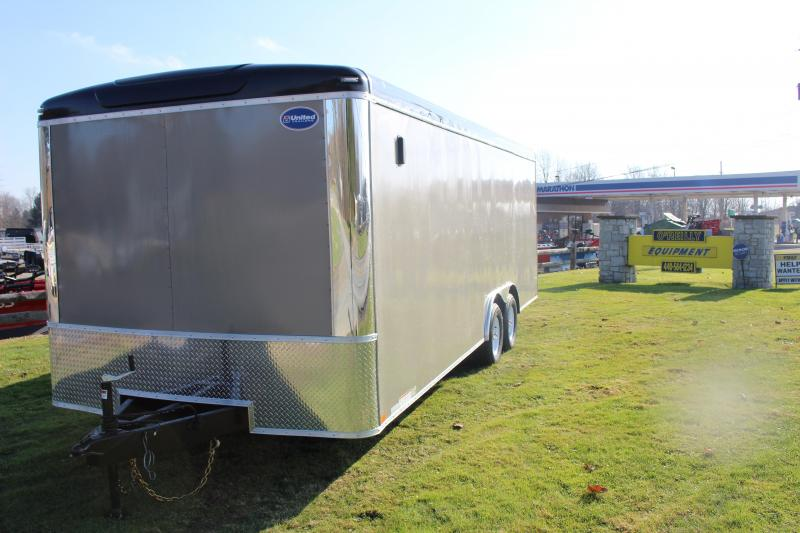 2020 United Trailers ULT 8.5X22 Enclosed Cargo Trailer