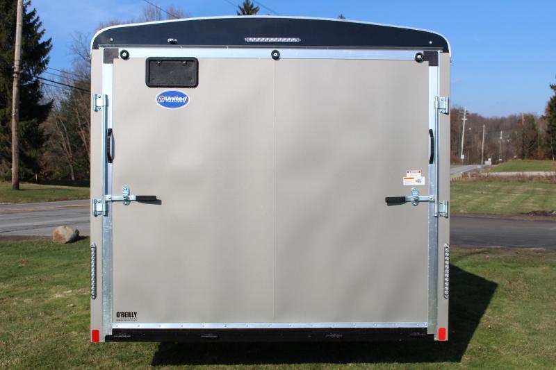 2020 United Trailers ULT 8.5X22 Enclosed Cargo Trailer