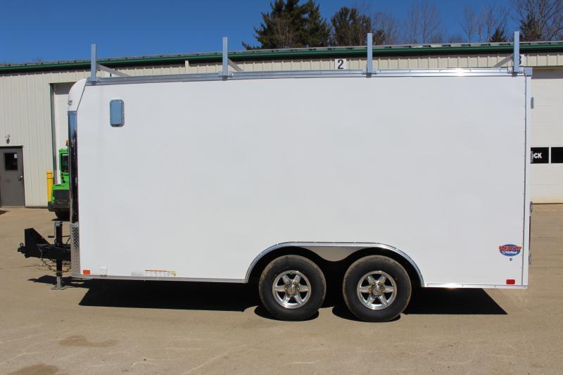 2020 United Trailers UXT 8.5x16 TOOL CRIB Enclosed Cargo Trailer