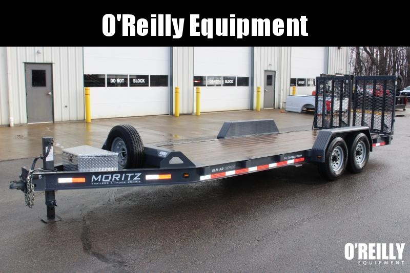 2020 Moritz International 7 x 20 Equipment Trailer