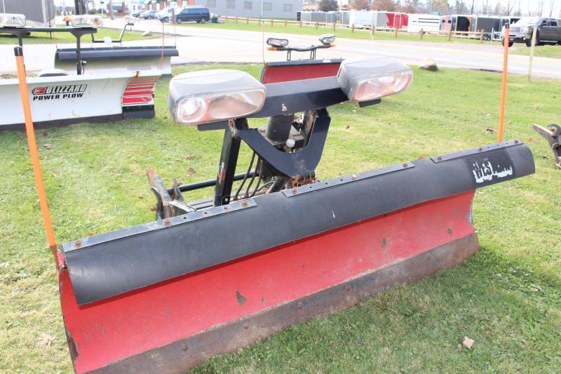 2010 PRO 7.5' STEEL PRO Snow Truck Plow USED