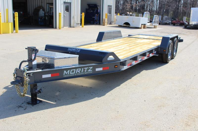2019 Moritz International ELBH-22 HT 14000 Equipment Trailer