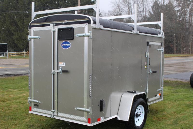 2020 United Trailers ULH 5 x 10 Enclosed Cargo Trailer