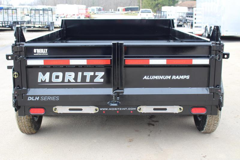 "2020 Moritz International 6'10""x10 HD Dump Trailer"