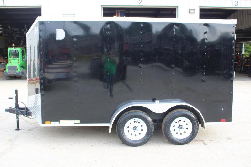 2020 United Trailers XLV 7 x 12 Enclosed Cargo Trailer