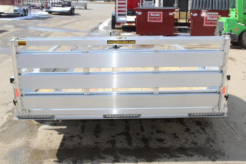 2020 H and H Trailer 6.8 x 14' Utility Trailer