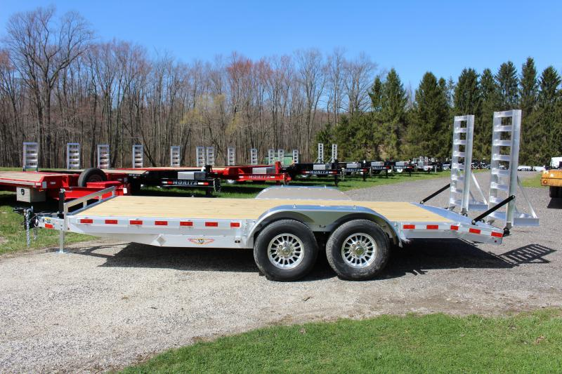 2020 H and H Trailer 7' x 18' Equipment Trailer
