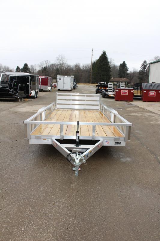 2019 H and H Trailer 6.8 x 16' Utility ATV Trailer