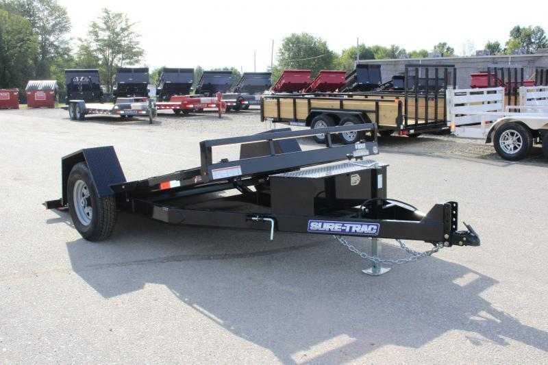 2020 Sure-Trac 6.5' x 12' TILT Equipment Trailer