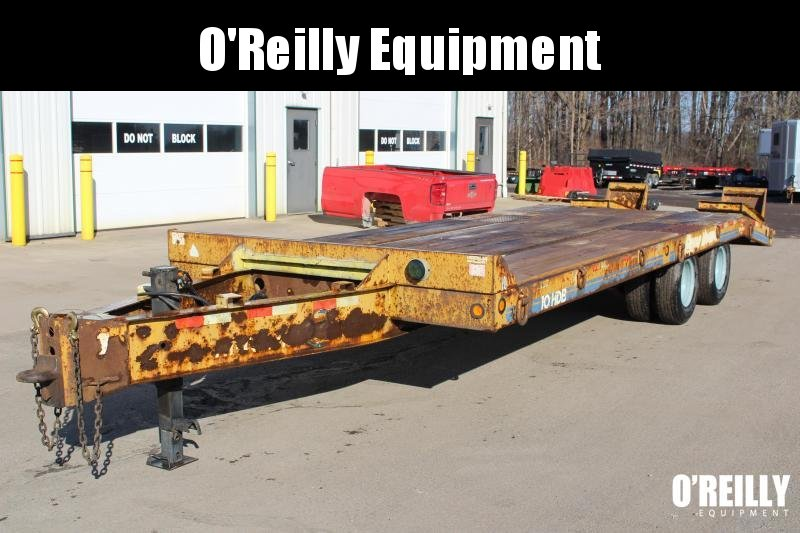 2000 Eager Beaver 10 HDB Equipment Trailer