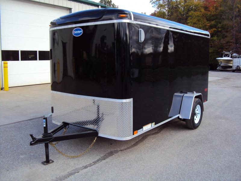 2020 United Trailers ULH 6 x 12 Enclosed Cargo Trailer