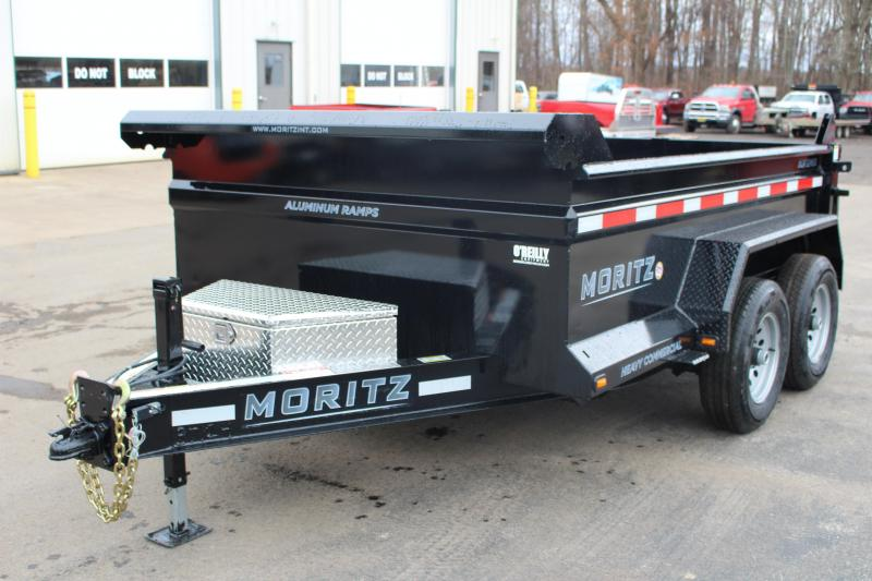 "2020 Moritz International 6'2""x10 HD Dump Trailer"