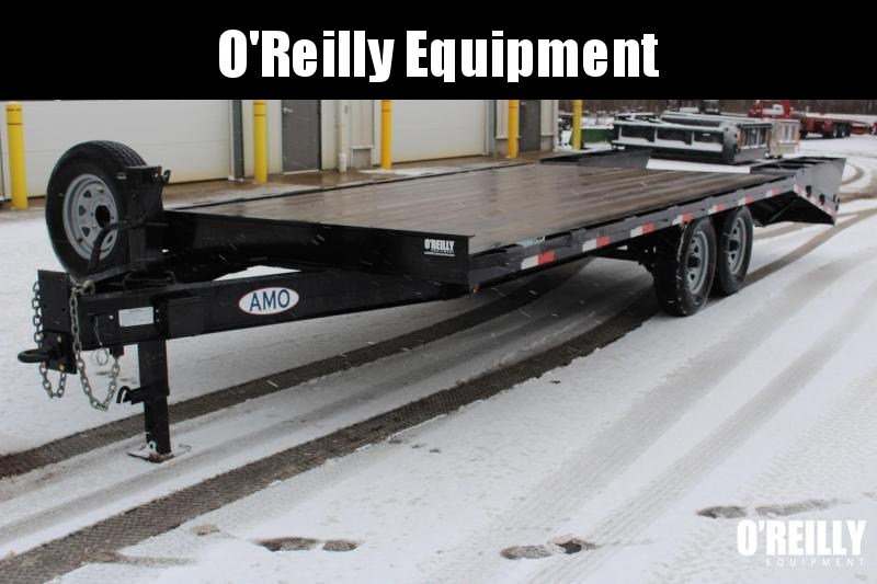 2017 AMO UG212 Equipment Trailer USED