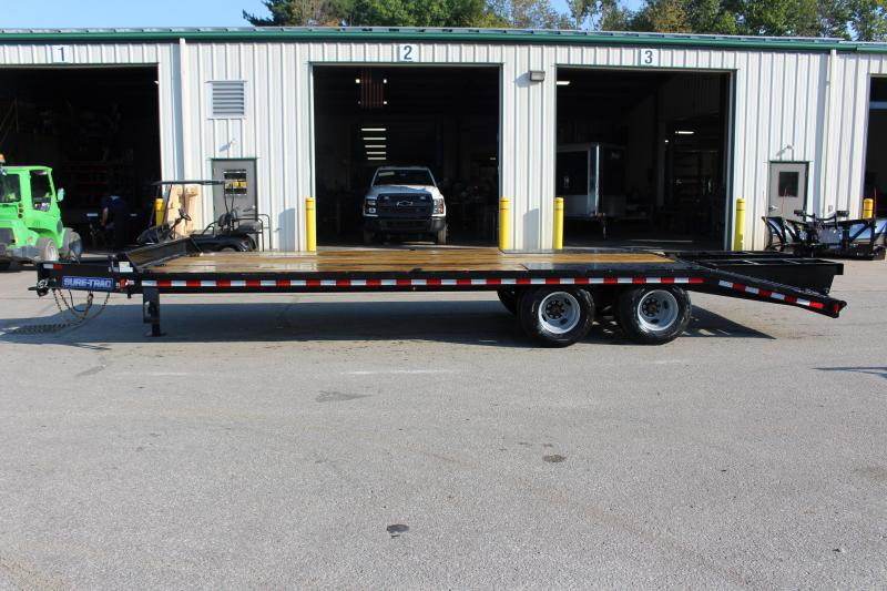 2020 Sure-Trac 8.5 x 25' Flatbed Trailer