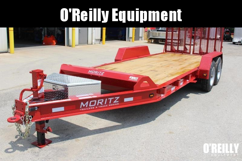 2019 Moritz International 7 x 22 Equipment Trailer