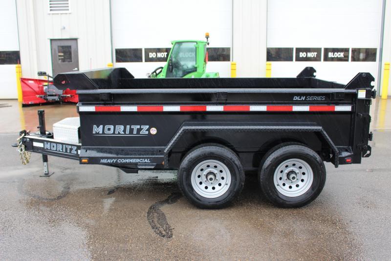 """2020 Moritz International 6'10""""x10 HD Dump Trailer"""