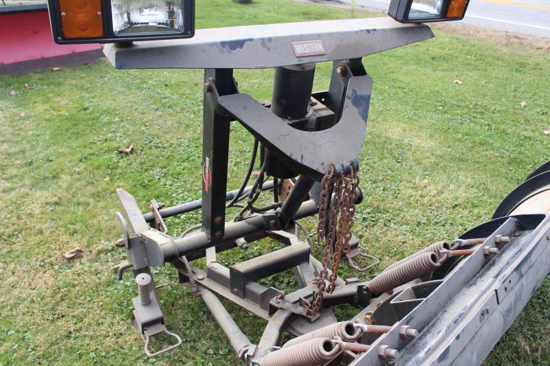 2010 PRO 8' POLY PRO Snow Truck Plow USED