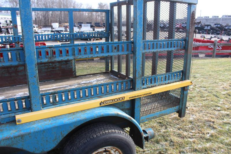 1992 Great Lakes Trailers 7 x 14 Landscape Utility Trailer Used