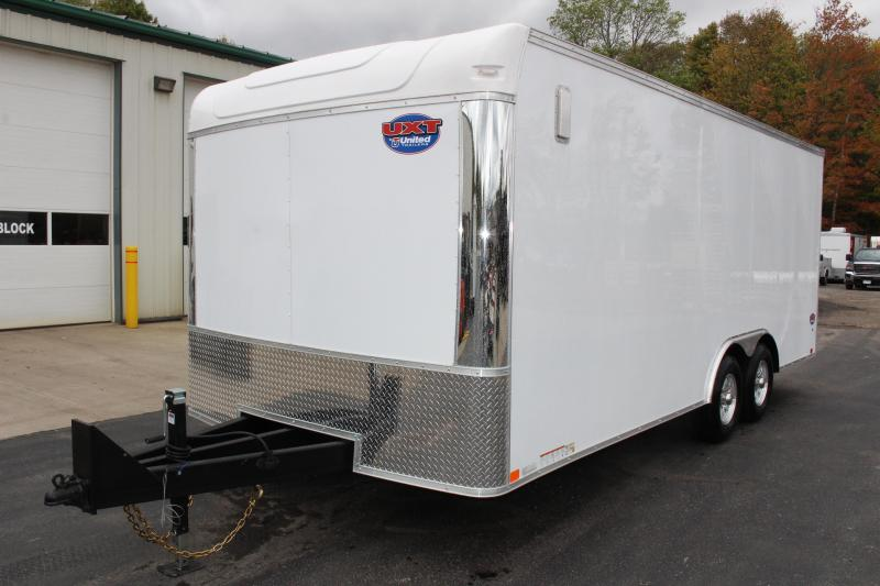 2020 United Trailers UXT 8.5x20 Enclosed Trailer