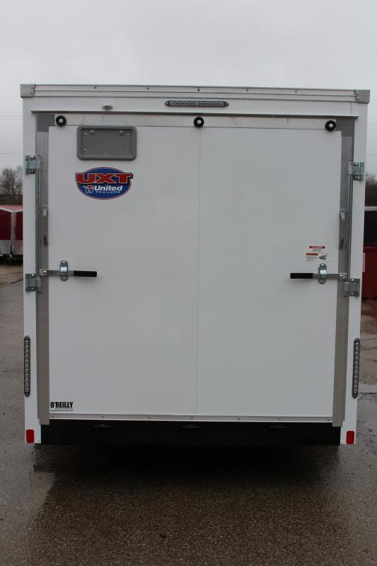 2020 United Trailers UXT 7x16 Enclosed Trailer