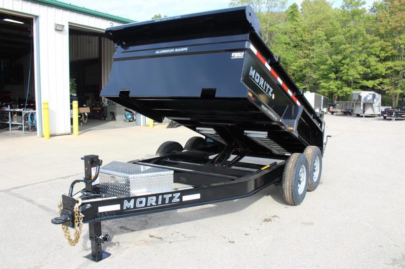 """2020 Moritz International 6'10""""x12 HD Dump Trailer"""