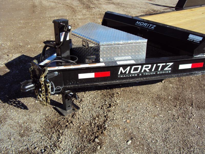 2019 Moritz International 7 x 18 Equipment Trailer