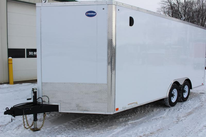 2020 United Trailers XLTV-8.521TA50-s Enclosed Cargo Trailer