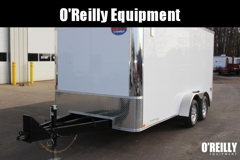 2020 United Trailers UXT 7x18 Enclosed Trailer