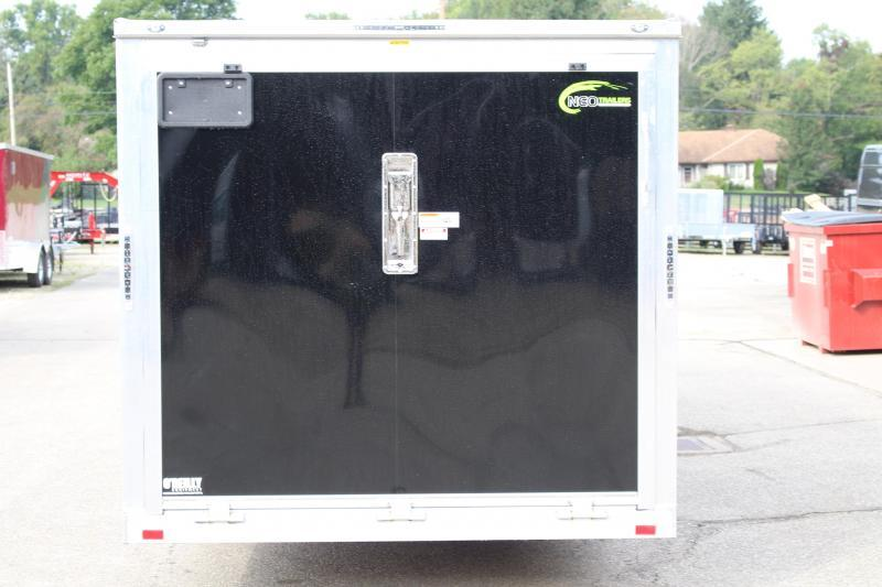 2019 NEO Trailers NAS 7 X 26 Enclosed Cargo Trailer