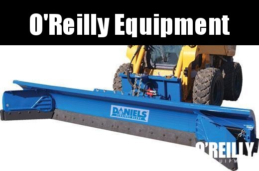2017 Daniel's Straight Blade Skid Steer Snow Plow