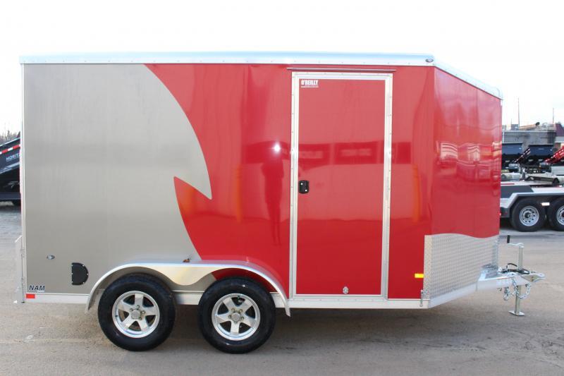 2020 NEO Trailers NAM 7 x 12 Enclosed Cargo Trailer
