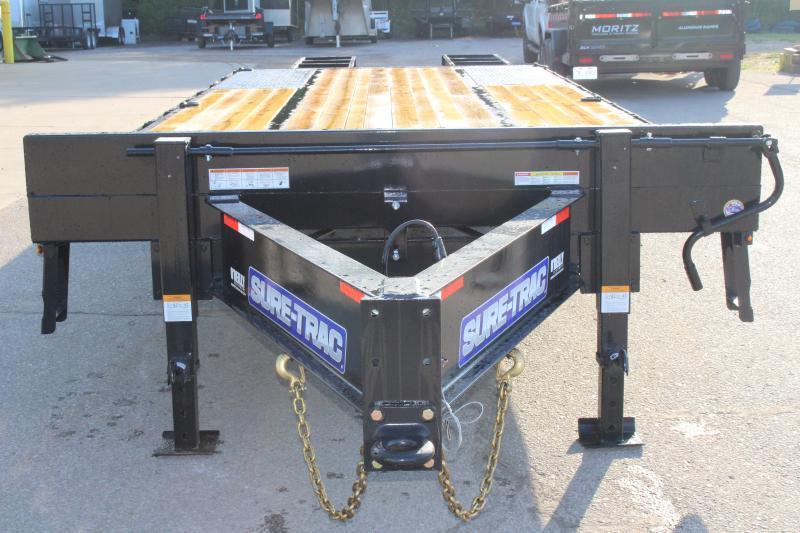 2020 Sure-Trac 8.5 x 20 5' Flatbed Trailer