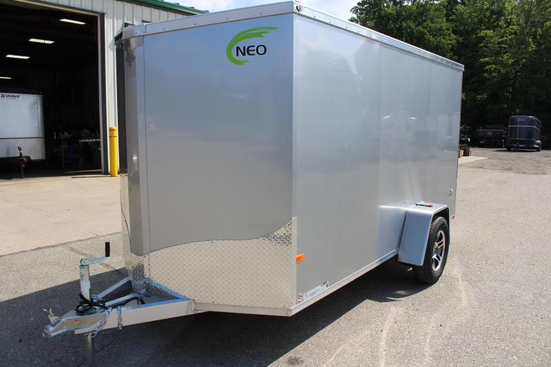 2020 NEO Trailers NAV 6 x 12 Enclosed Cargo Trailer